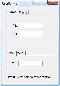 UserformActiveControl